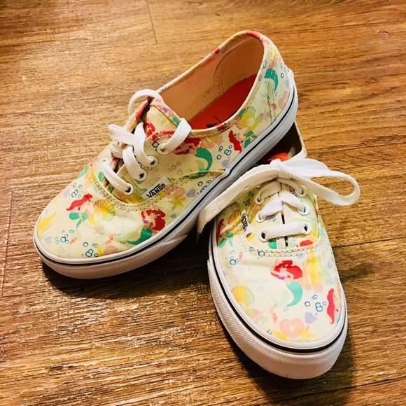 92fab0606fe923 Girls Disney Little Mermaid VANS. M 5aad805561ca106907585b52. Other Shoes  ...